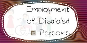 Employment of Disabled Persons in Thailand