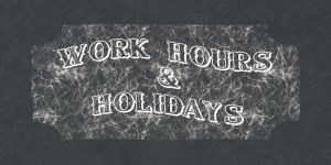 Work hours & holidays in Thailand